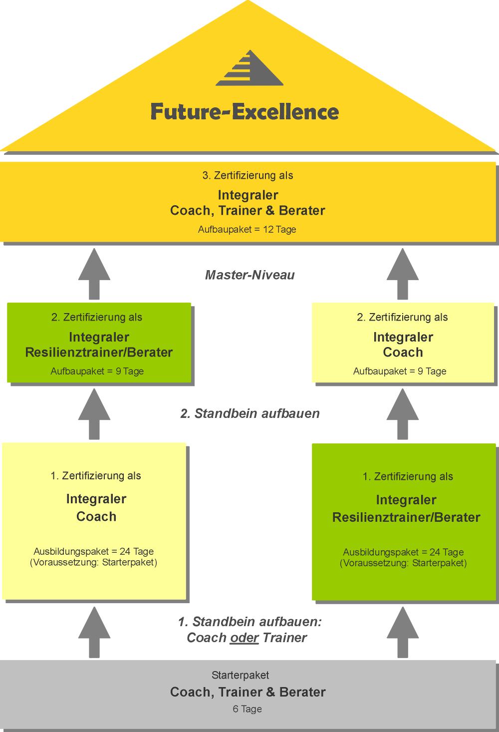 Modulare Ausbildung zum integralen Coach, Resilienztrainer / Berater