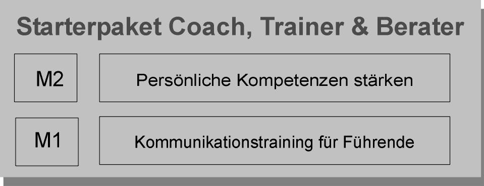 Starterpaket zur Coach, Trainer, Berater Ausbildung
