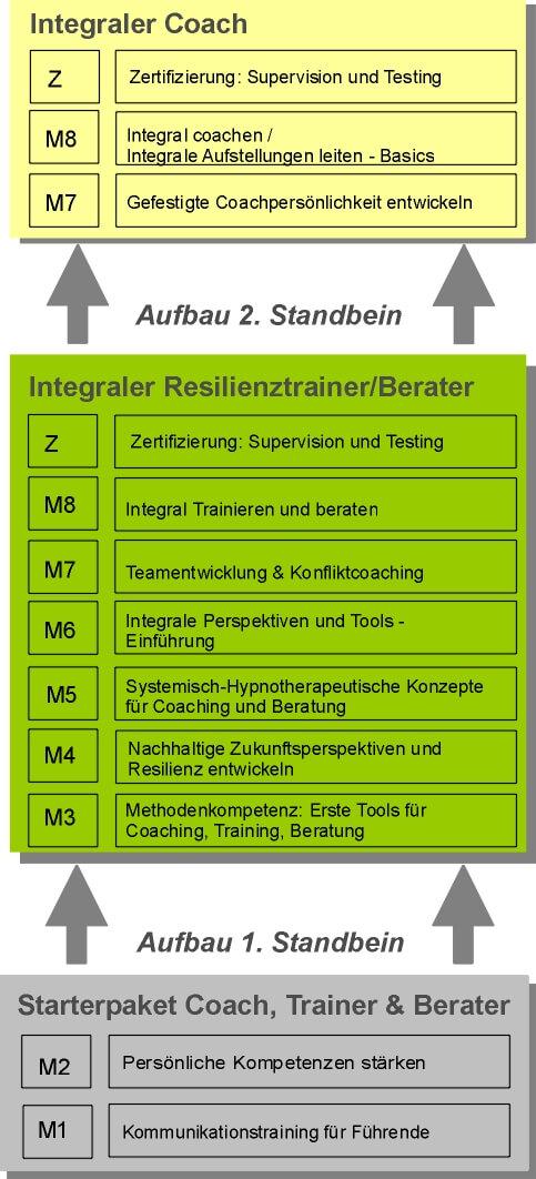 Kombi-Ausbildung - Integraler Resilienztrainer und Integraler Coach, Köln